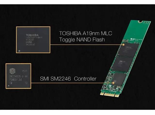 Plextor S1G 256GB M.2 SSD Review 1