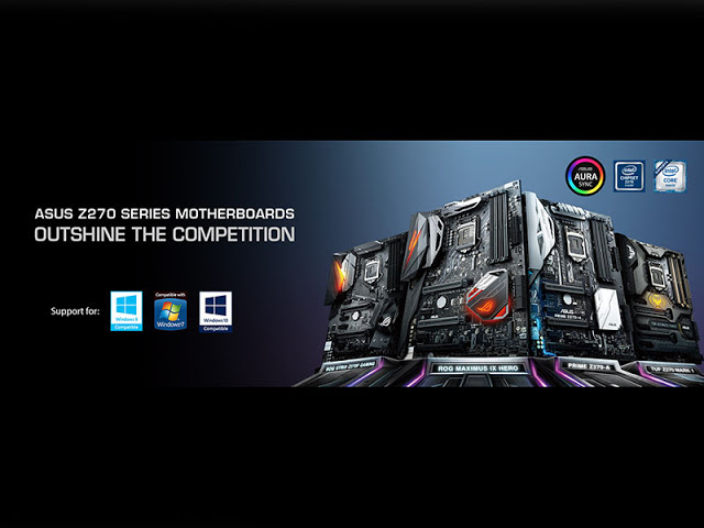 ASUS Announces Win7 and Win8.1 Support on the Z270 Series Motherboards Lineup 15