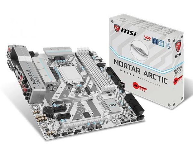 MSI Announces 4 New Arctic Gaming Motherboards - Z270/H270 Tomahawk and H270M/B250M Mortar Arctic 18