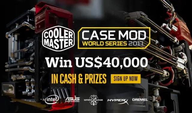 Cooler Master Announces 'Case Mod World Series 2017' with 25th Anniversary Celebration Bonus 1
