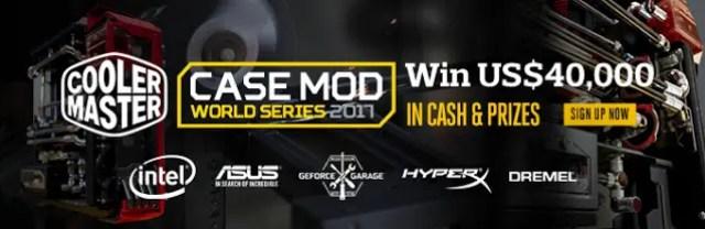 Cooler Master Announces 'Case Mod World Series 2017' with 25th Anniversary Celebration Bonus 2