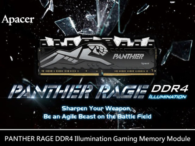 Apacer Announces Its New Panther Rage DDR4 Illuminated Gaming Memory Module 11
