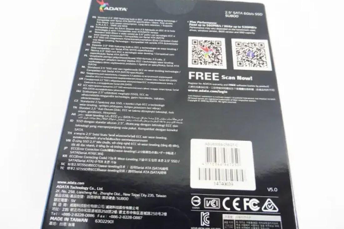 ADATA Ultimate SU800 256GB SSD Review 2