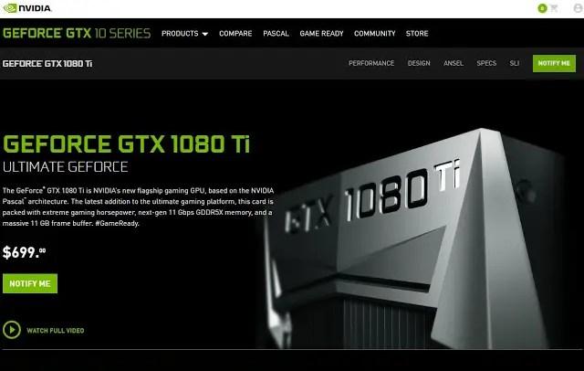 NVIDIA Announces The GeForce GTX 1080 Ti - Faster Than TITAN X Pascal! 2