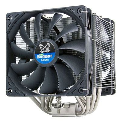 "Scythe Announces The ""PCGH Edition"" Mugen 5 CPU Cooler, Bundled With 2 x Kaze Flex 120 PWM Fans 3"