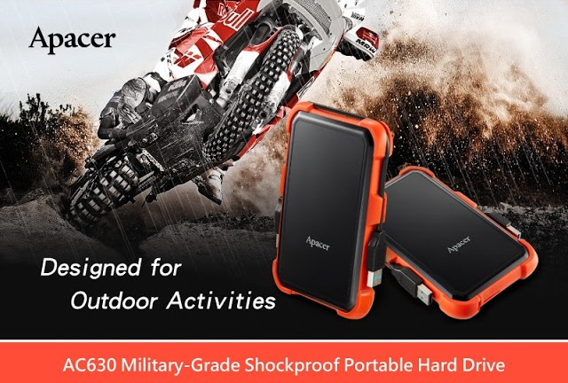 AC630 USB 3.1 Gen 1 Military-Grade Shockproof Portable Hard Drive Designed for Outdoor Activities 3