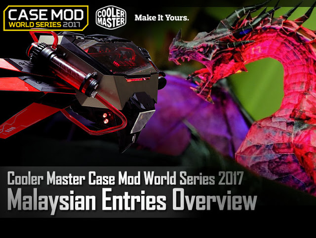 Cooler Master Case Mod World Series 2017 Malaysian Entries Overview 21