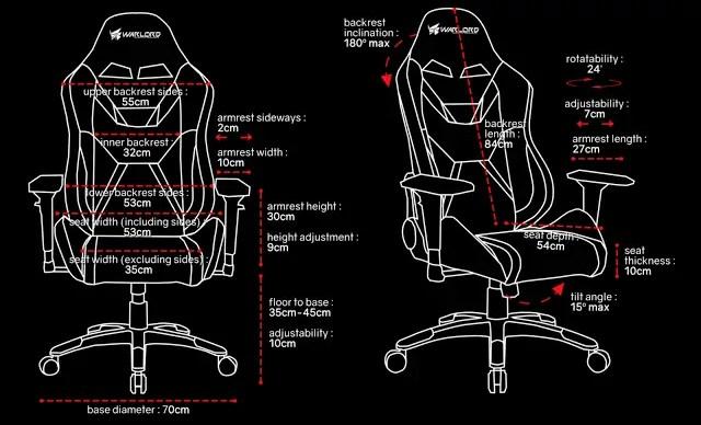 Warlord Phantom Gaming Chair Review 2