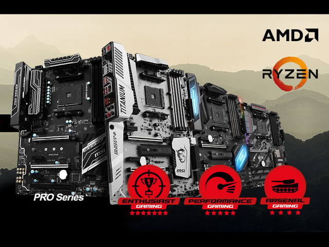MSI Announces List of RYZEN 3 Ready AM4 Motherboards 3