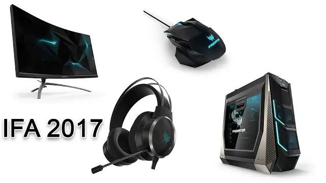 [IFA 2017] Acer Announces the Predator Orion 9000 desktop, Predator X35 monitor & Predator Gadgets 11