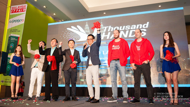 Thousand Hands App Launch: Auction Your Problems Away 1