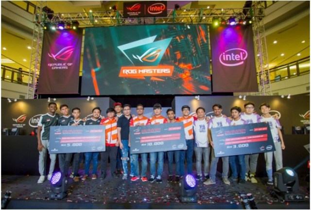 ROG Masters Malaysian Qualifier 2017 Champions Fire Dragoon Esports and Team HighGround To Represent Malaysia For ROG Masters APAC 8