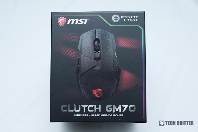 MSI Clutch GM70 Gaming Mouse Review