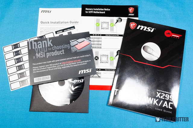 Unboxing & Overview: MSI X299 Tomahawk AC 9