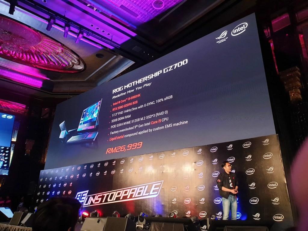 ROG Malaysia Announces ROG Mothership, Glacier Blue Colour and new Laptop & Desktop Lineup 2