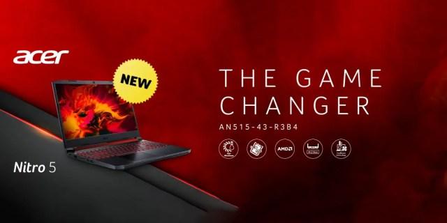 Acer Nitro 5 with Ryzen NVIDIA combo