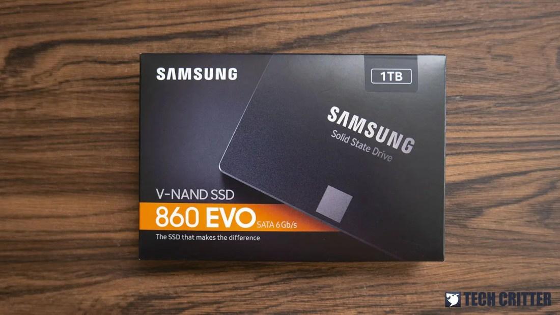 Samsung 860 EVO SSD 1TB