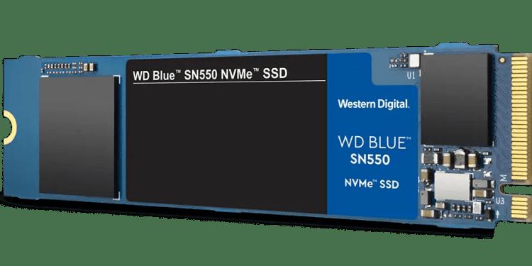 Western Digital WD Blue SN550 NVMe SSD
