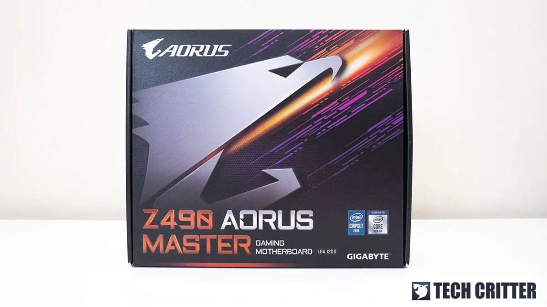 GIGABYTE Z490 AORUS MASTER 1