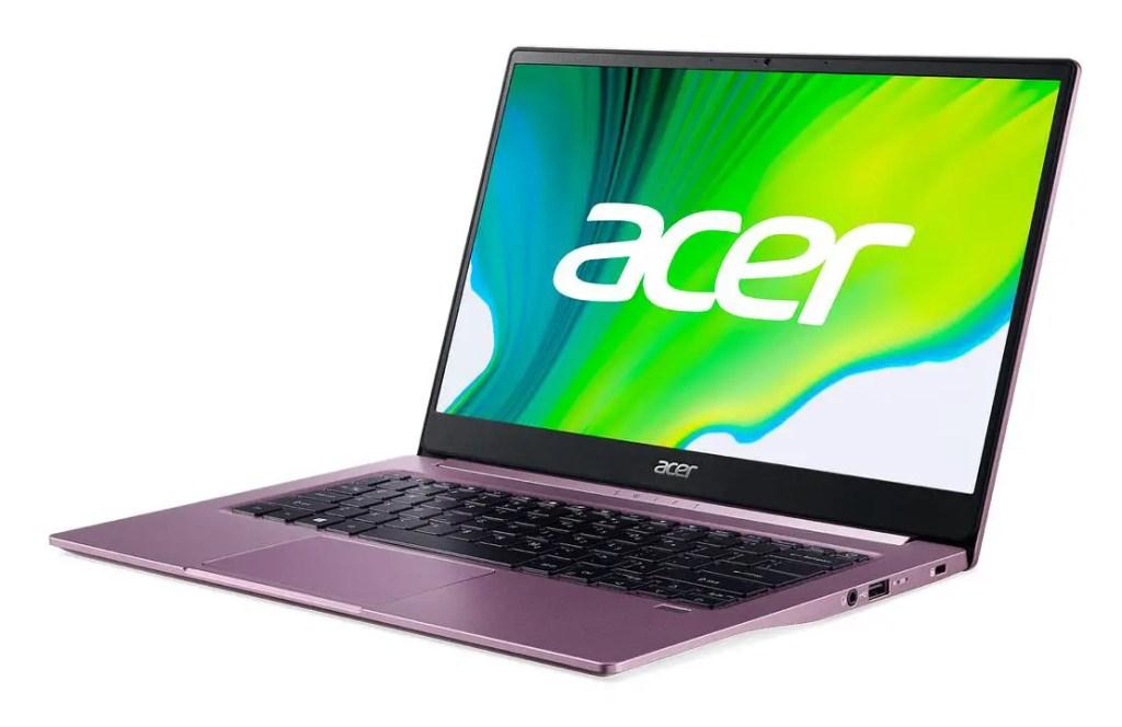 AMD Acer Swift 3 SF314 42 FP Backlit WP logo Purple 03