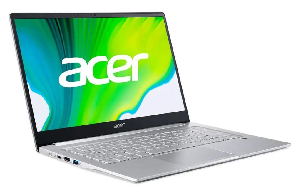 AMD Acer Swift 3 SF314 42 WP acer logo FP Backlit Silver 02