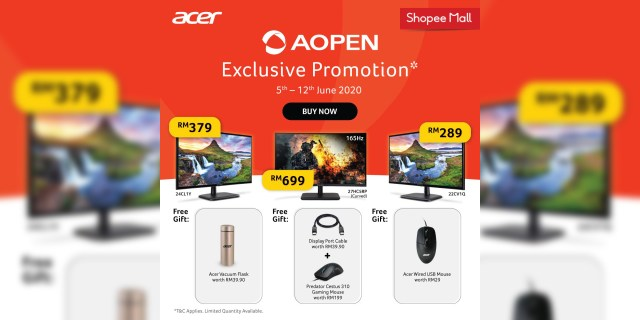 AOpen Monitors by Acer