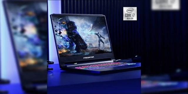 The Acer Predator Triton 500 and Nitro 5 now comes with 10th Gen Intel processors