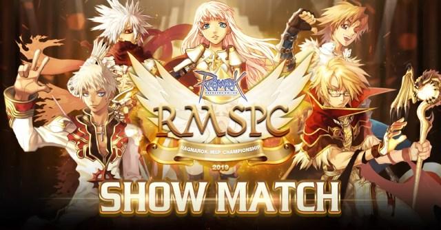 Ragnarok MSP Championship 2019 Show Match banner