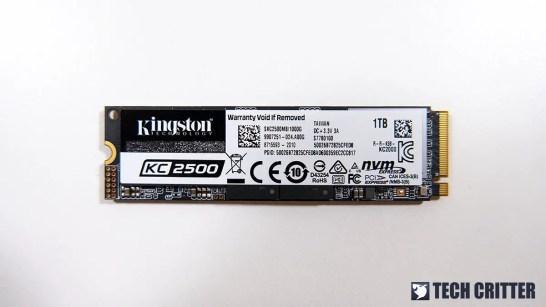 Kingston KC2500 NVMe SSD 2