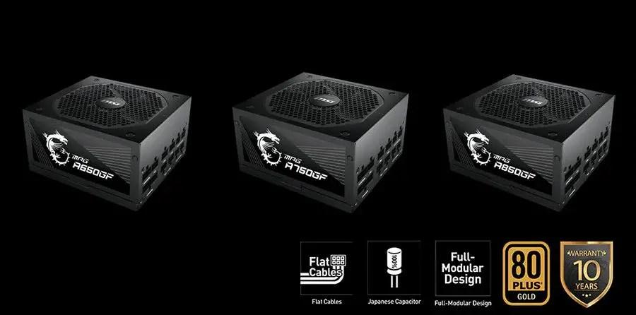 MSI MPG GF Series Power Supply 1