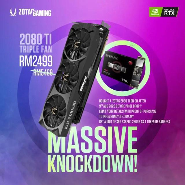 Zotac RTX 2080 Ti SSD