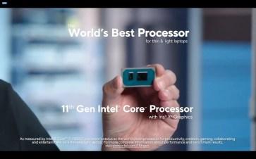 Intel 11th Gen CPU 11