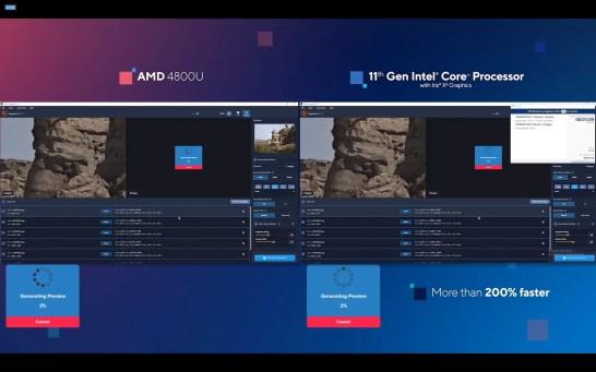 Intel 11th Gen CPU 12