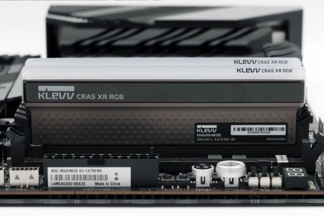 KLEVV CRAS XR RGB 11 new