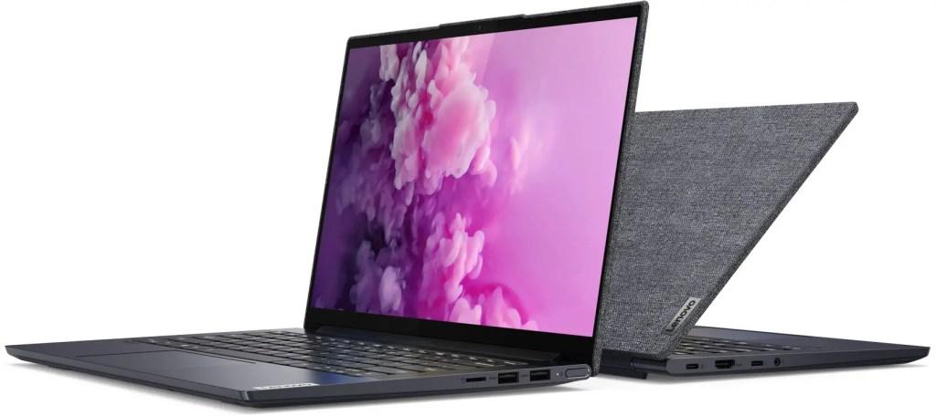 Lenovo Yoga Slim 7i Side by Side