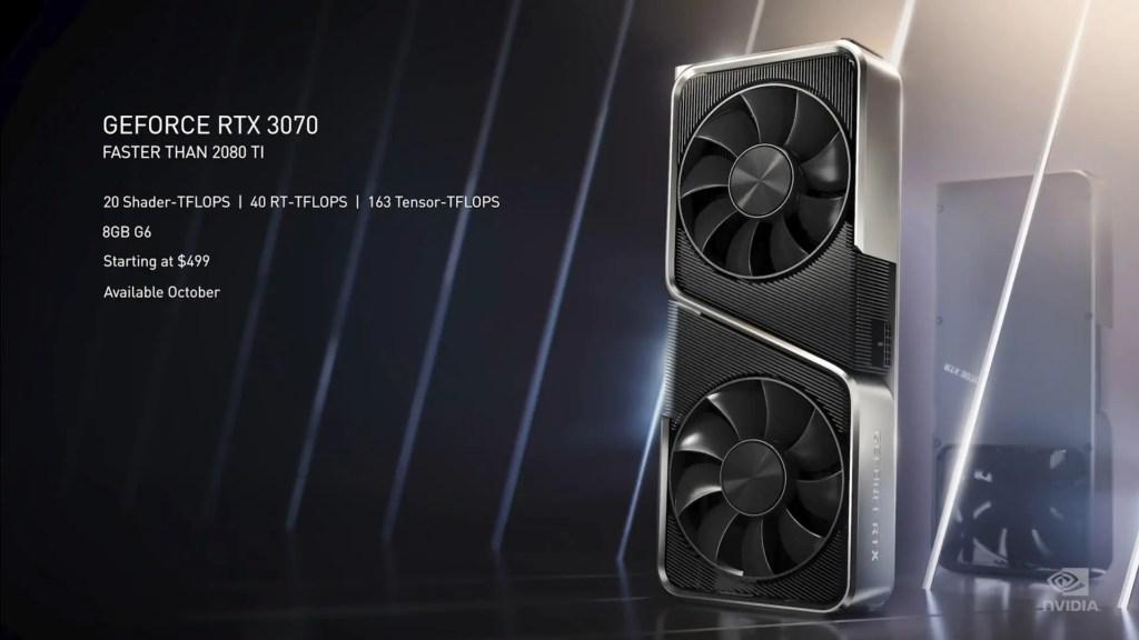 NVIDIA RTX 30 series announcement 5