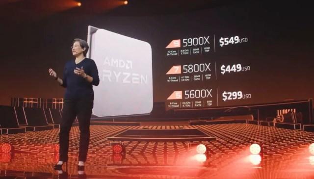 AMD Zen 3 Ryzen 5000 series desktop processors 8