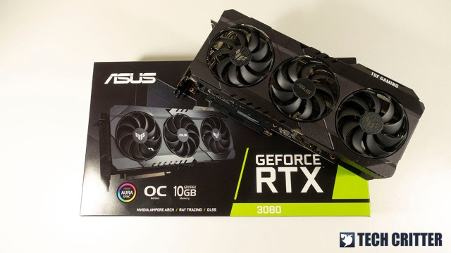 ASUS TUF Gaming GeForce RTX 3080 OC Edition 6