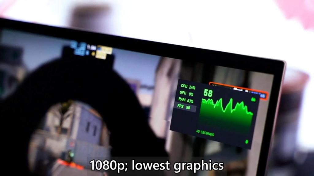 ASUS ZenBook Flip S UX371 Intel Core i7 1165G7 performance 2