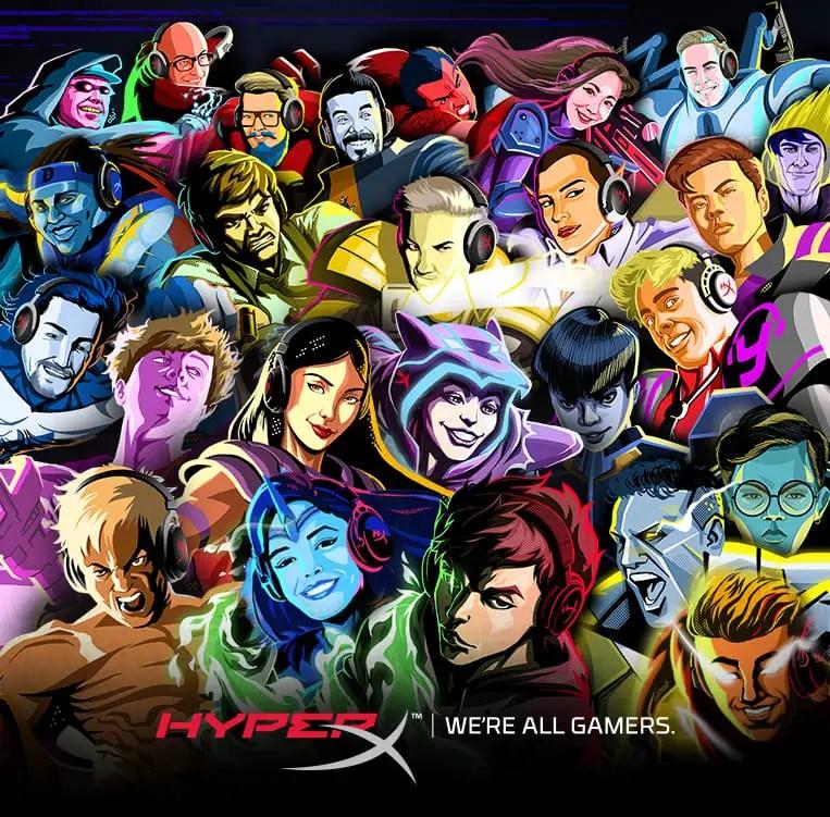 HyperX Ambassadors