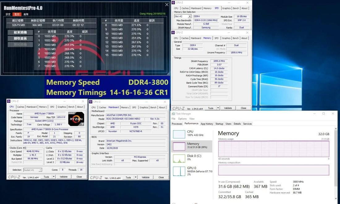 G.SKILL Trident Z Neo DDR4 3800 CL14 16 16GBx2