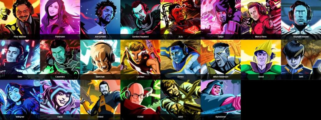 HyperX Ambassadors List