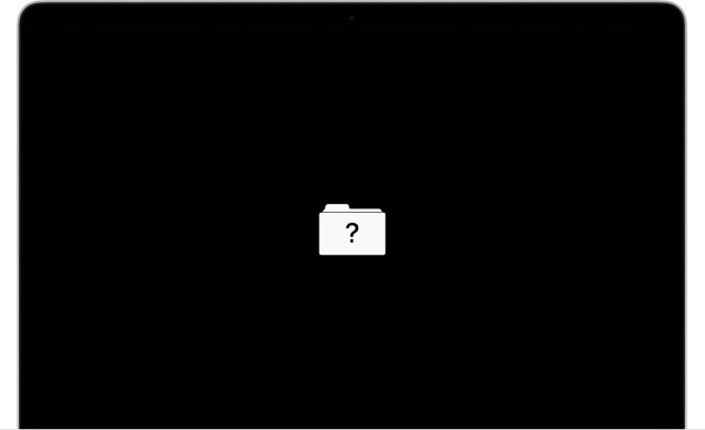 macos startup screen disk unavailable