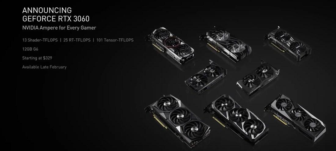 NVIDIA GeForce RTX 3060 1