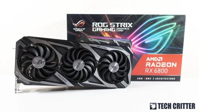 ROG Strix RX 6800 OC Edition 29