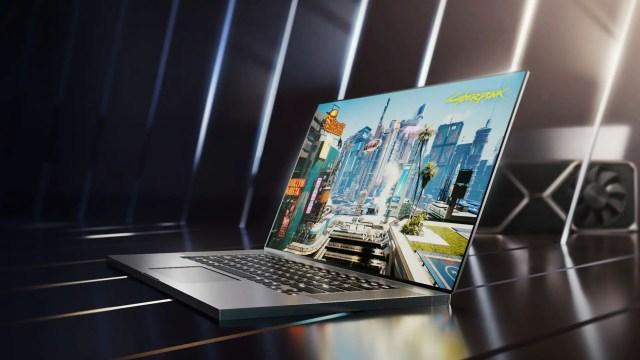NVIDIA RTX 30 series laptop 2