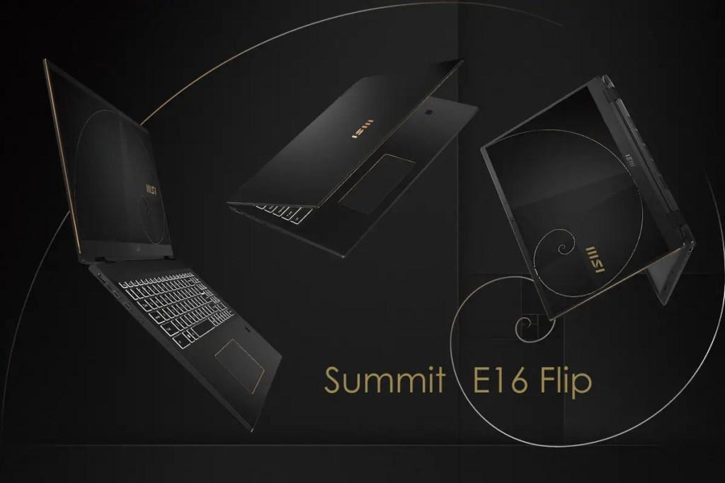 MSI Summit E16 Flip Featured