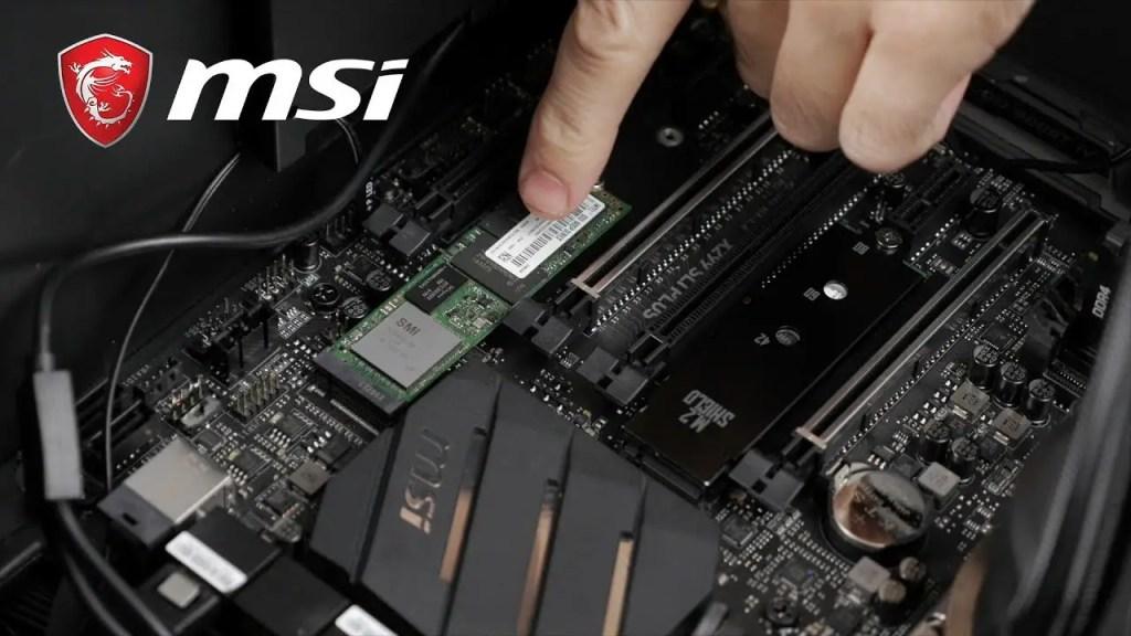 MSI M.2 Slot