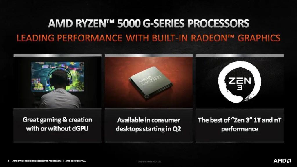AMD Ryzen 5000 G Series