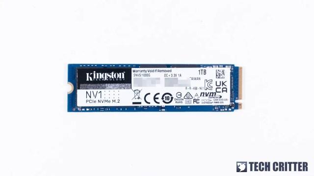 Kingston NV1 NVMe PCIe SSD 2A
